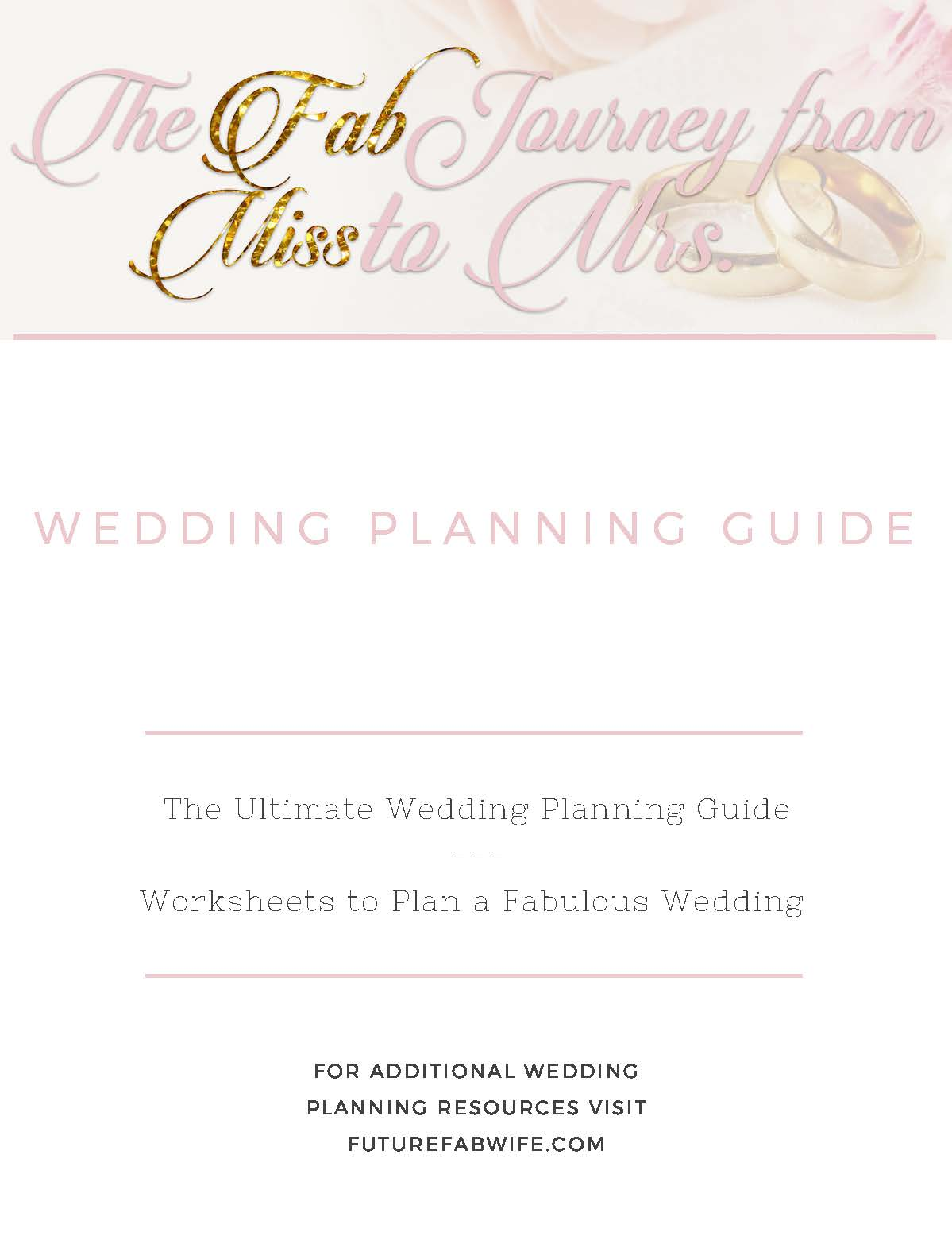 Wedding planning guide fab wives wedding planning guide junglespirit Image collections